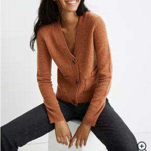 like new - Madewell Shrunken Cardigan Sweater - s